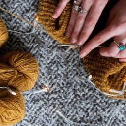 Crafting the Prettiest Presents for Newborns with Needles and Yarns